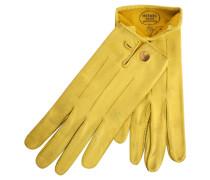 Second Hand  Lederhandschuhe in Gelb