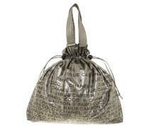 Second Hand  Silberfarbene Handtasche