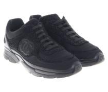 Second Hand  Schwarze Sneakers mit Glitzerfäden