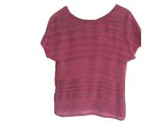 Second Hand  Oberteil aus Seide in Rosa / Pink
