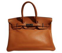"""Second Hand  """"Birkin Bag 35"""" in Orange"""