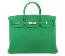 "Second Hand  ""Birkin Bag 40 Clémence Leder Bamboo"""