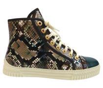 Second Hand  Sneakers aus Reptilleder