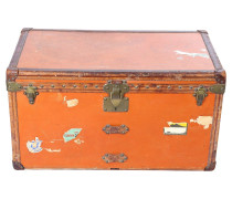 "Second Hand  Vintage Truhe ""Malle Courrier"""