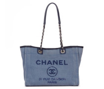 Second Hand  Small Deauville Tote Denim