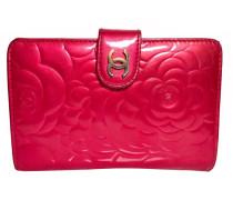 Second Hand Täschchen/Portemonnaie aus Lackleder in Rosa / Pink