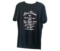 Second Hand  T-Shirt in Schwarz