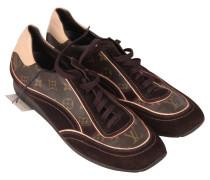 Second Hand  Sneakers mit Monogram-Muster