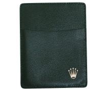 Second Hand  Karten-Etui in Grün