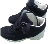 Second Hand  Sneaker in Schwarz