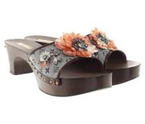 Second Hand  Sandaletten mit Holzsohle