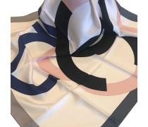 Second Hand  Schal/Tuch aus Seide in Creme