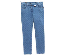 Second Hand  Jeans mit Steppmuster