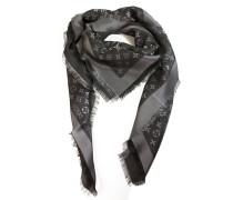 Second Hand  Schal/Tuch aus Seide in Schwarz