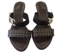 Second Hand  Sandaletten in Braun