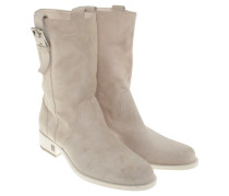 Second Hand  Stiefelette in Beige
