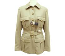 Second Hand  Jacke im Safari-Stil