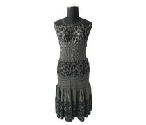 Second Hand  Graues Kleid mit Nieten