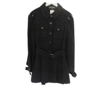 Second Hand  Jacke / Mantel Seide in Schwarz