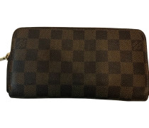 "Second Hand  ""Zippy Wallet Damier Ebene Canvas"""