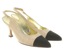 Second Hand  Slingbacks in Bicolor