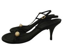 Second Hand  Sandaletten mit Perle