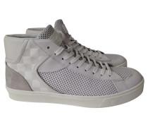 Second Hand  Sneakers aus Leder in Weiß