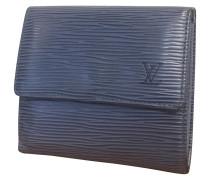 0097c62137a50 Second Hand Täschchen Portemonnaie aus Leder in Blau. Louis Vuitton