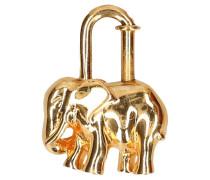 Second Hand  Goldfarbener Taschenanhänger