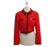 Second Hand  Jacke in Rot