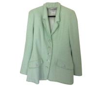 Second Hand  Jacke/Mantel aus Baumwolle in Grün