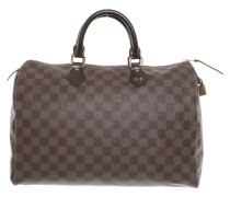 "Second Hand  ""Speedy 35 Damier Ebene Canvas"""