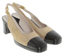 Second Hand  Sling-Pumps in Bicolor