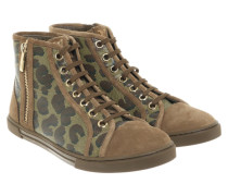 Second Hand  Sneakers mit Camouflage-Muster