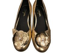 Second Hand  Goldfarbene Ballerinas