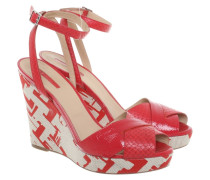 Second Hand  Wedges in Rot