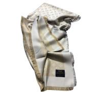 Second Hand  Monogram Tuch aus Seide in Beige