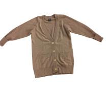 Second Hand  Strickjacke aus Kaschmir in Braun