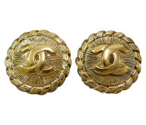 Second Hand  Ohrring aus Gelbgold in Gold