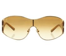 Second Hand  Sonnenbrille in Goldfarben