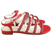 Second Hand Rote Sandalen