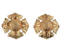 Second Hand  Goldfarbene Ohrringe