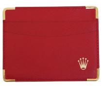 Second Hand  Karten-Etui in Rot