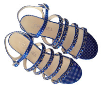 Second Hand  Blaue Sandalen