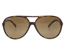Second Hand  Sonnenbrille in Braun