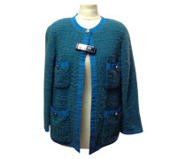 Second Hand  Cardigan in Petrol