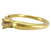 Second Hand  Vergoldetes Pferdekopf-Armband