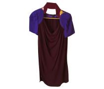 Second Hand  Kleid aus Viskose in Bordeaux