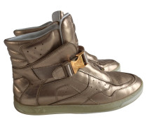 Second Hand  Goldfarbene Sneakers