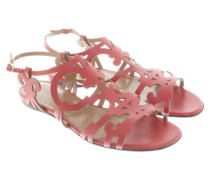 Second Hand  Sandalen in Rot